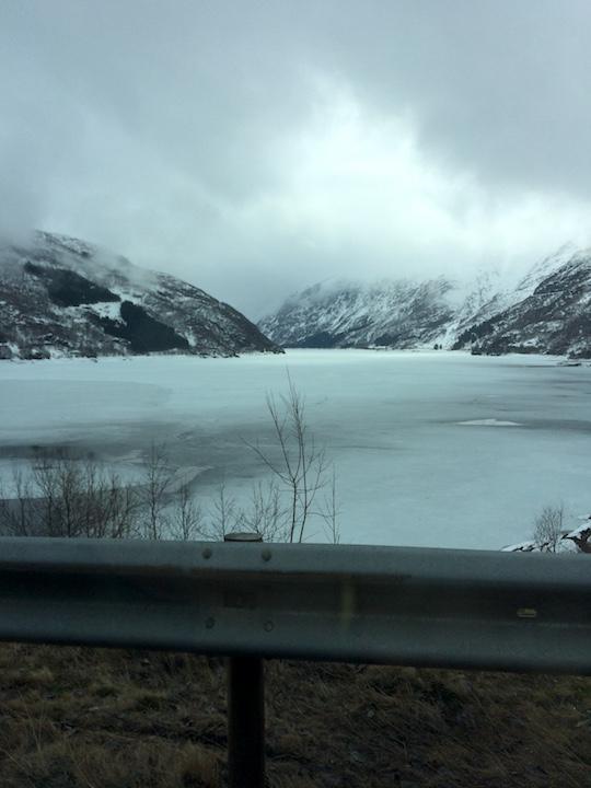 Frozen Sea Norway