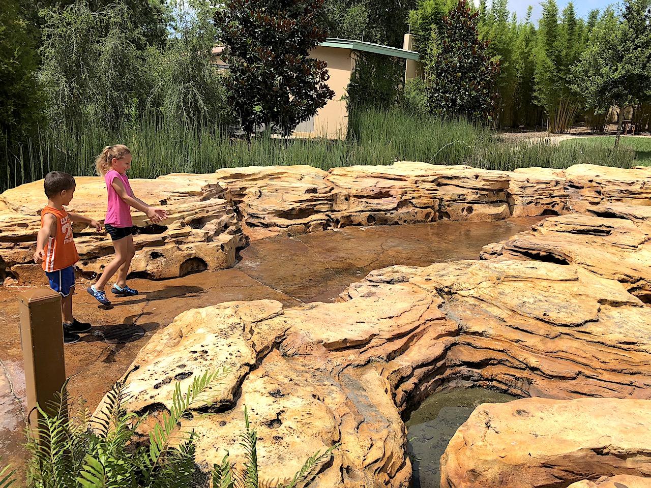 Water Play at Bok Tower