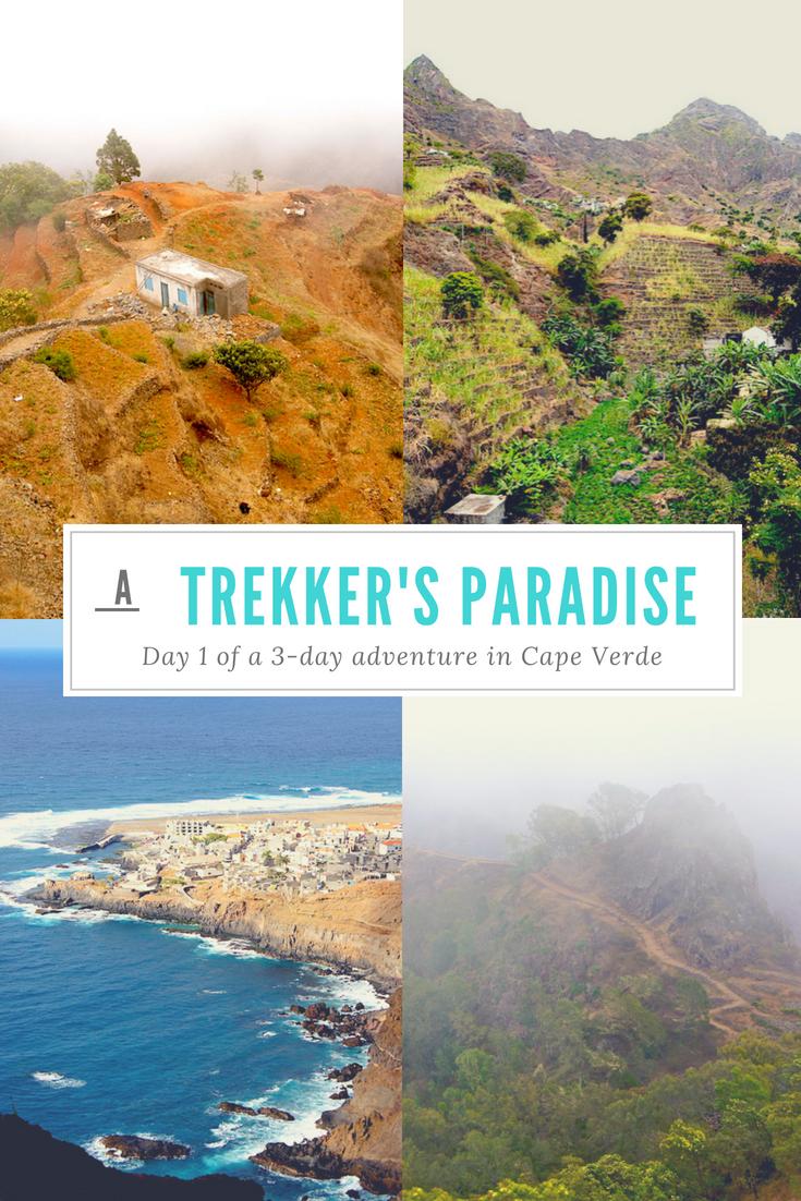 Visiting Cape Verde and trekking on Santo Antao with a guide #CapeVerde #Trekking #AdventureTravel #SantoAntao