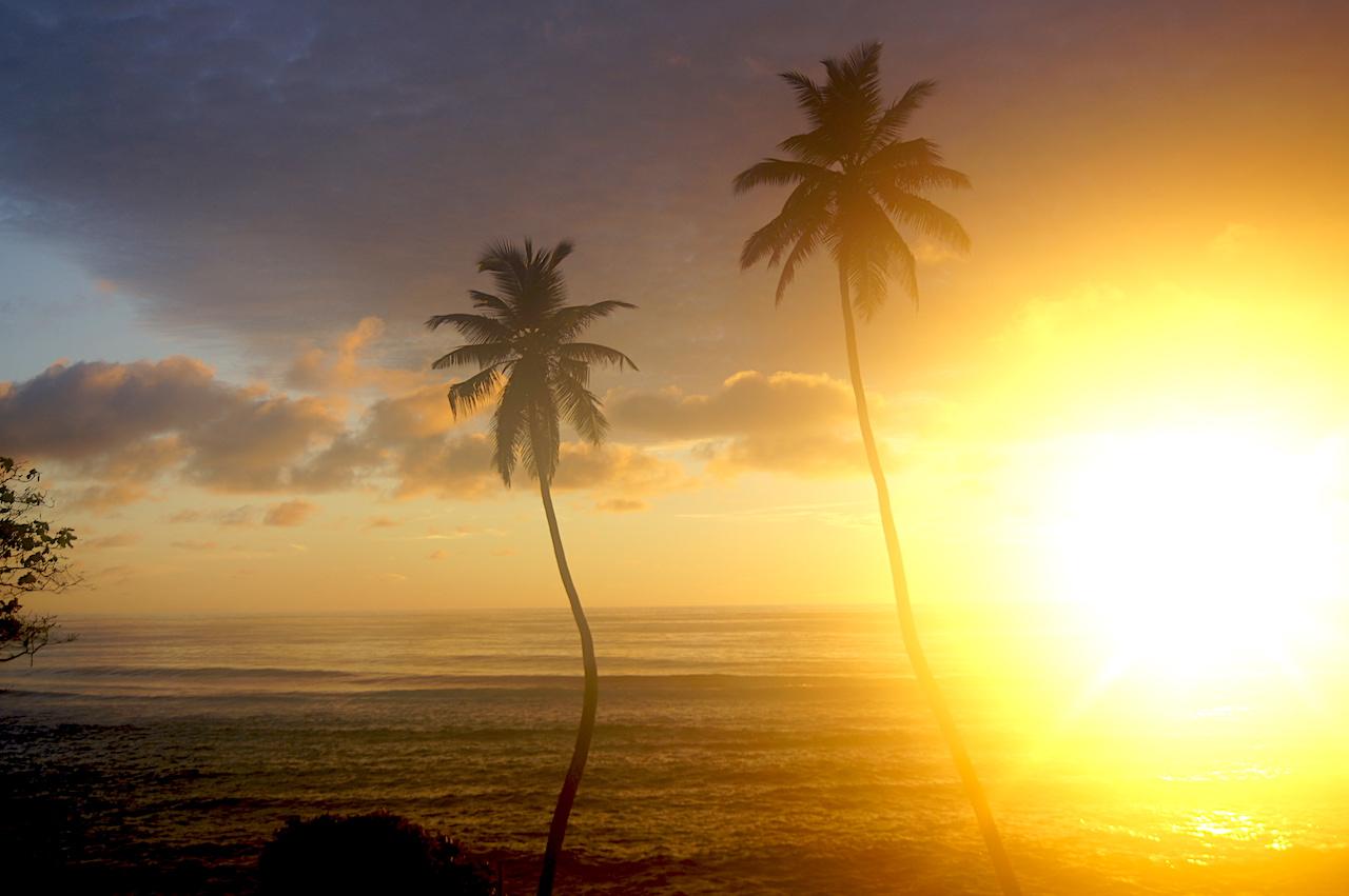 Sunrise on Mahé, Seychelles. #Sunsets #Mahe #Seychelles #PetitePoliceBeach #MaheBeach #SeychellesBeach