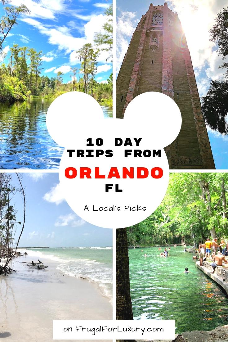 10 Day Trips from Orlando, FL #Orlando #VisitOrlando #OrlandoDayTrips #DayTrips #OrlandoFun #TripsAroundOrlando #ThingstoDoinOrlando