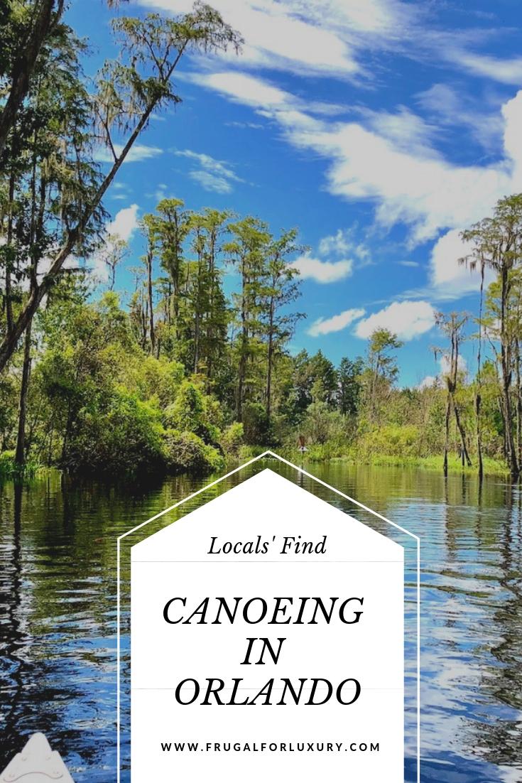 Canoeing in Orlando at Shingle Creek Regional Park #Orlando #Orlandowithkids #CanoeingOrlando #VisitOrlando #VisitKissimmee #OrlandowithKids #NatureOrlando #FamilyTravel