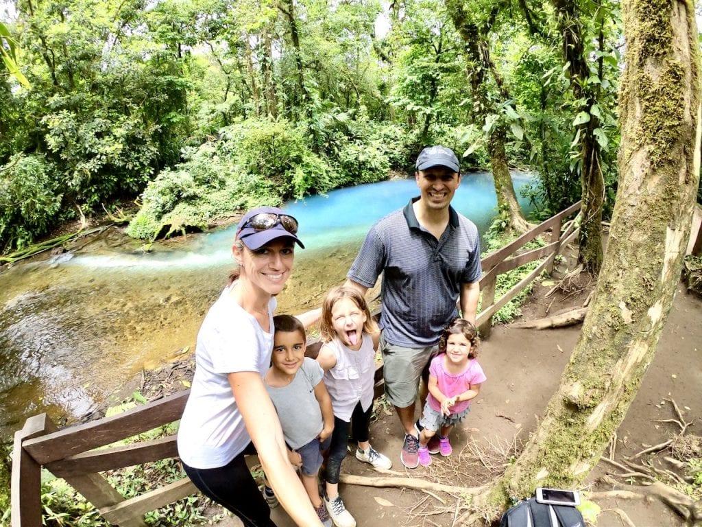 Parque Nacional Volcàn Tenorio With Kids - Costa Rica Report | Costa Rica with kids | Hiking with kids | Costa Rica volcano | Rio Celeste | Family travel blog | #costarica #visitcostarica #costaricawithkids #volcanotenorio #volcantenorio #familytravel #familytravelblog #centralamerica