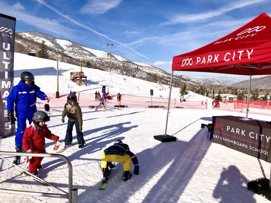 5 Reasons to Ski With Kids in Park City, Utah   Ski Utah   Utah Ski Resorts   Park City Mountain   Family Ski Lesson   Skiing With Kids in Utah   US Family Travel   Winter Travel With Kids   Family Travel Blog   #skiutah #utahski #parkcity #parkcitywithkids #skiingwithkids #familyski #familytravel #familytravelblog #travelblogger