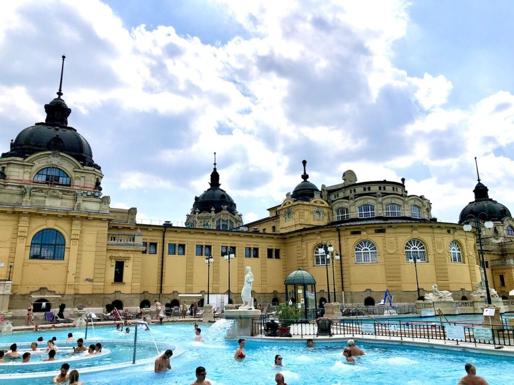 Budapest Thermal Baths With Kids - What To Know Before You Go   Lukacs Bath Budapest   Szechenyi Baths   Budapest baths with kids   Budapest thermal pools   Hungary travel   Visit Budapest   Budapest travel blog   Budapest with kids   #budapest #budapestwithkids #visitbudapest #budapestthermalbaths #szechenyibaths #lukacsbaths #visithungary
