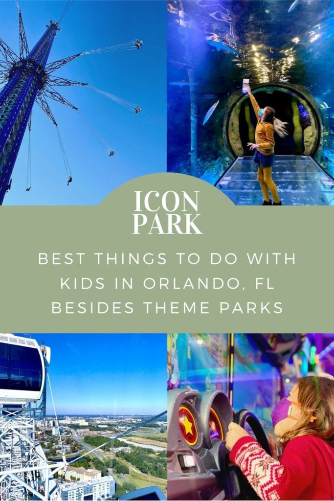 ICON Park With Kids | Things to do in Orlando, FL besides theme parks | StarFlyer Orlando | Madame Tussauds wax museum Orlando | SEA LIFE Orlando aquarium | Orlando with kids | Best tapas restaurant in Orlando | Family-friendly restaurant in Orlando | I-Drive attractions | International drive attractions | tallest swing in Orlando | things to do on idrive Orlando | Family travel Orlando | rainy day activities orlando | Orlando travel blog | #iconpark #iconparkorlando #starflyerorlando #idrive #orlandowithkids #madametussauds #sealife #visitorlando