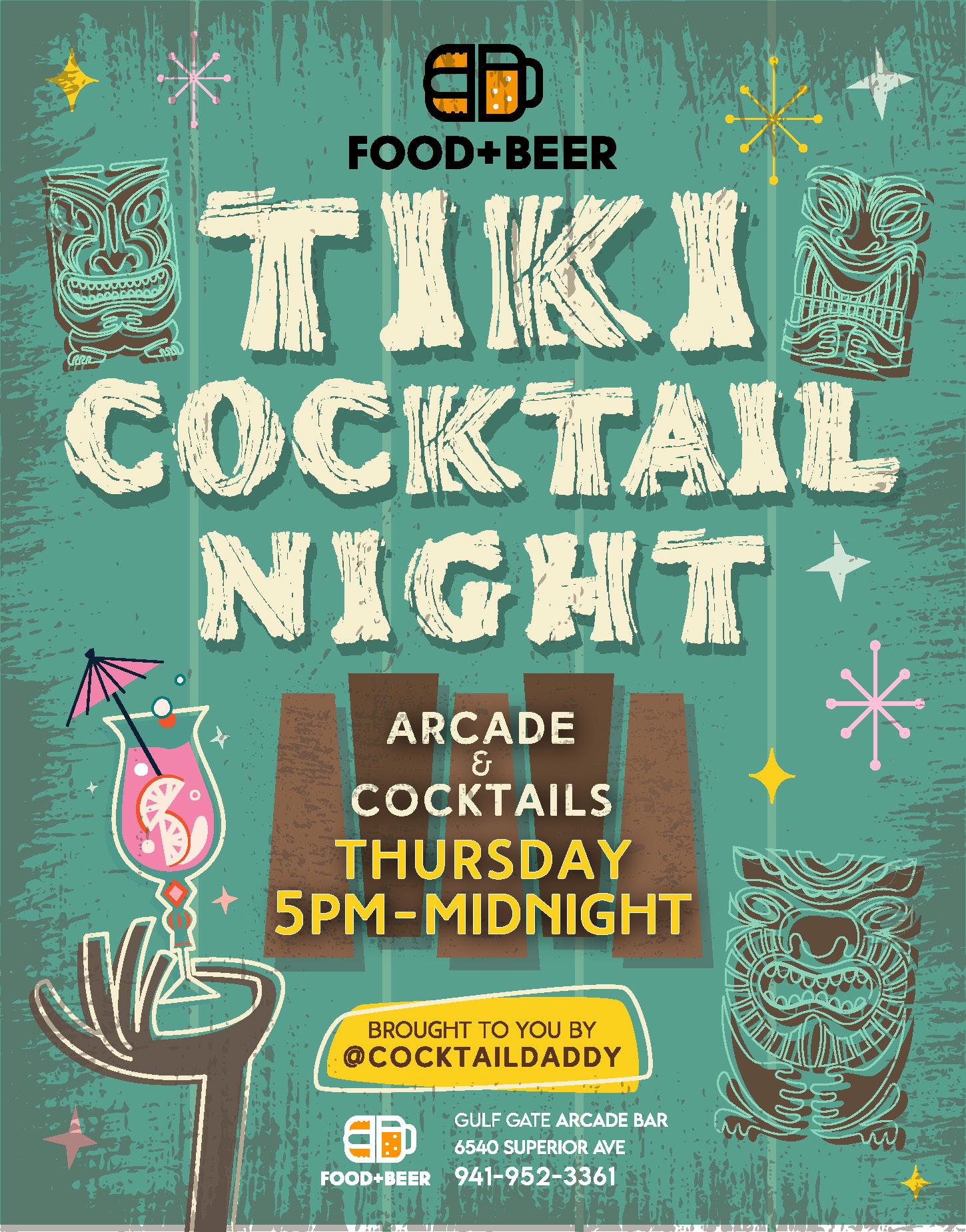 Tiki Night Flyer