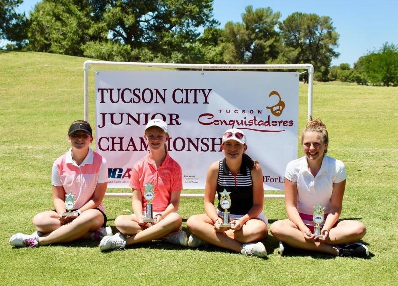 Girls 13-14_Rylee Koebnick, Annie Dawson, Mia Cesarek, Lily Huether