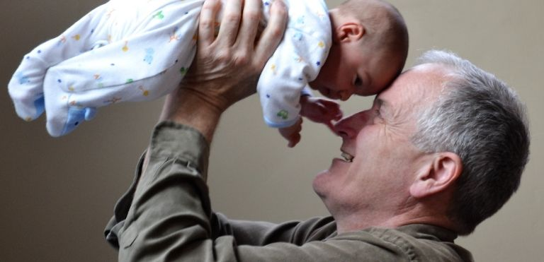 grandfather holding granddaughter family law fargo north dakota
