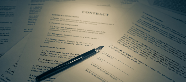contract law business law fargo nd