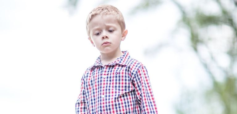 sad kid family law fargo