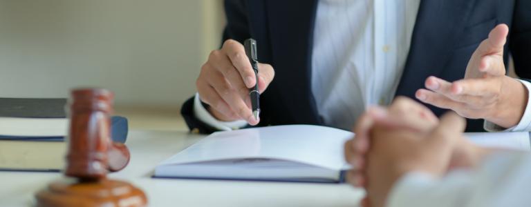attorney advising client business law fargo