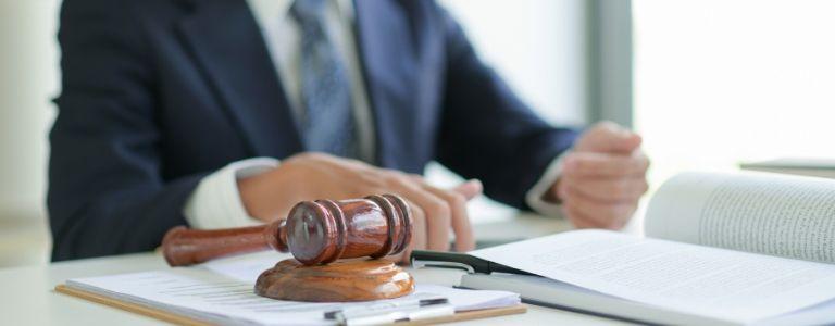 man in court criminal law fargo