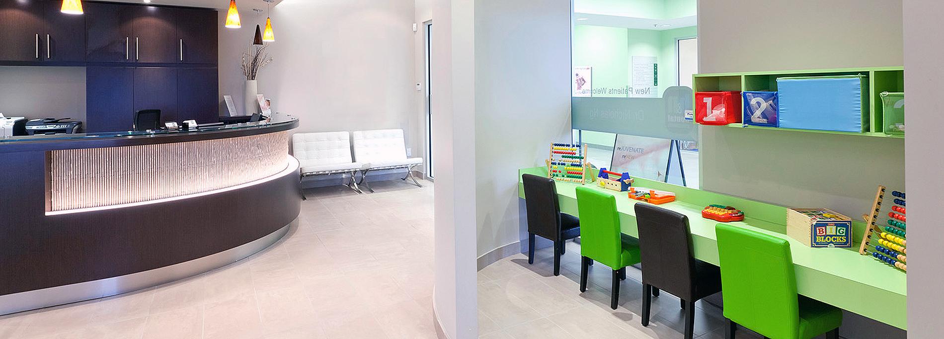 Mint Dental Clinic - Burlington Dentist Office - Kids Play Area
