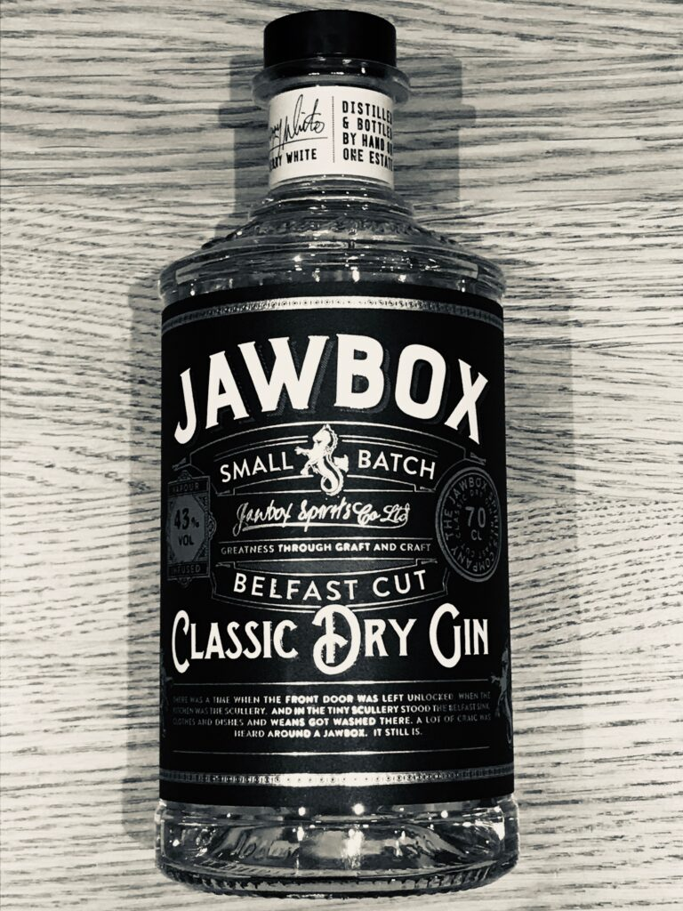 Jawbox gin review at whichgin.com