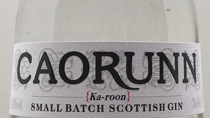 Caorunn Gin review