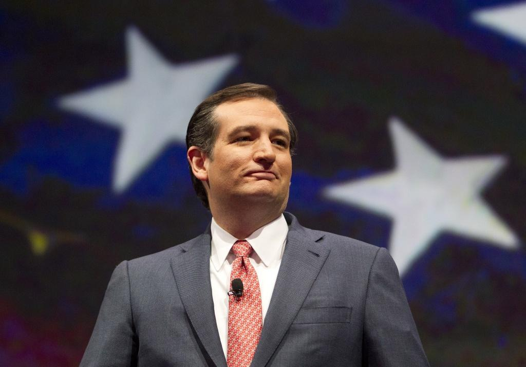 U.S. Senator Ted Cruz speaks during the NRA-ILA Leadership Forum at the National Rifle Association's 142 Annual Meetings and Exhibits in the George R. Brown Convention Center Friday, May 3, 2013, in Houston. The 2013 NRA Annual Meetings and Exhibits runs from Friday, May 3, through Sunday, May 5. More than 70,000 are expected to attend the event with more than 500 exhibitors represented. The convention will features training and education demos, the Antiques Guns and Gold Showcase, book signings, speakers including Glenn Beck, Ted Nugent and Sarah Palin as well as NRA Youth Day on Sunday ( Johnny Hanson / Houston Chronicle )