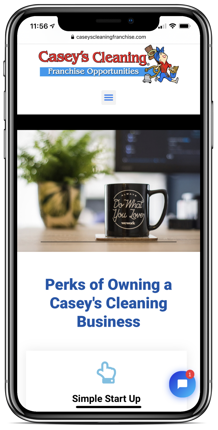 Casey's cleaning franchise join the family