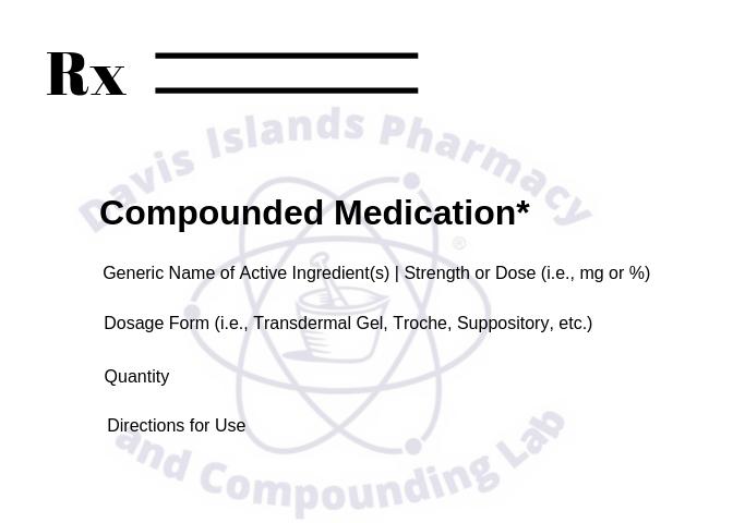 How to Write Compound Prescription
