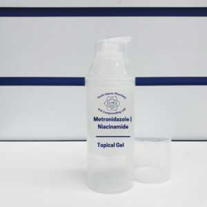 metronidazole-niacinamide topical gel for rosacea