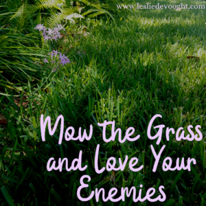 Mow the Grass and Love Your Enemies