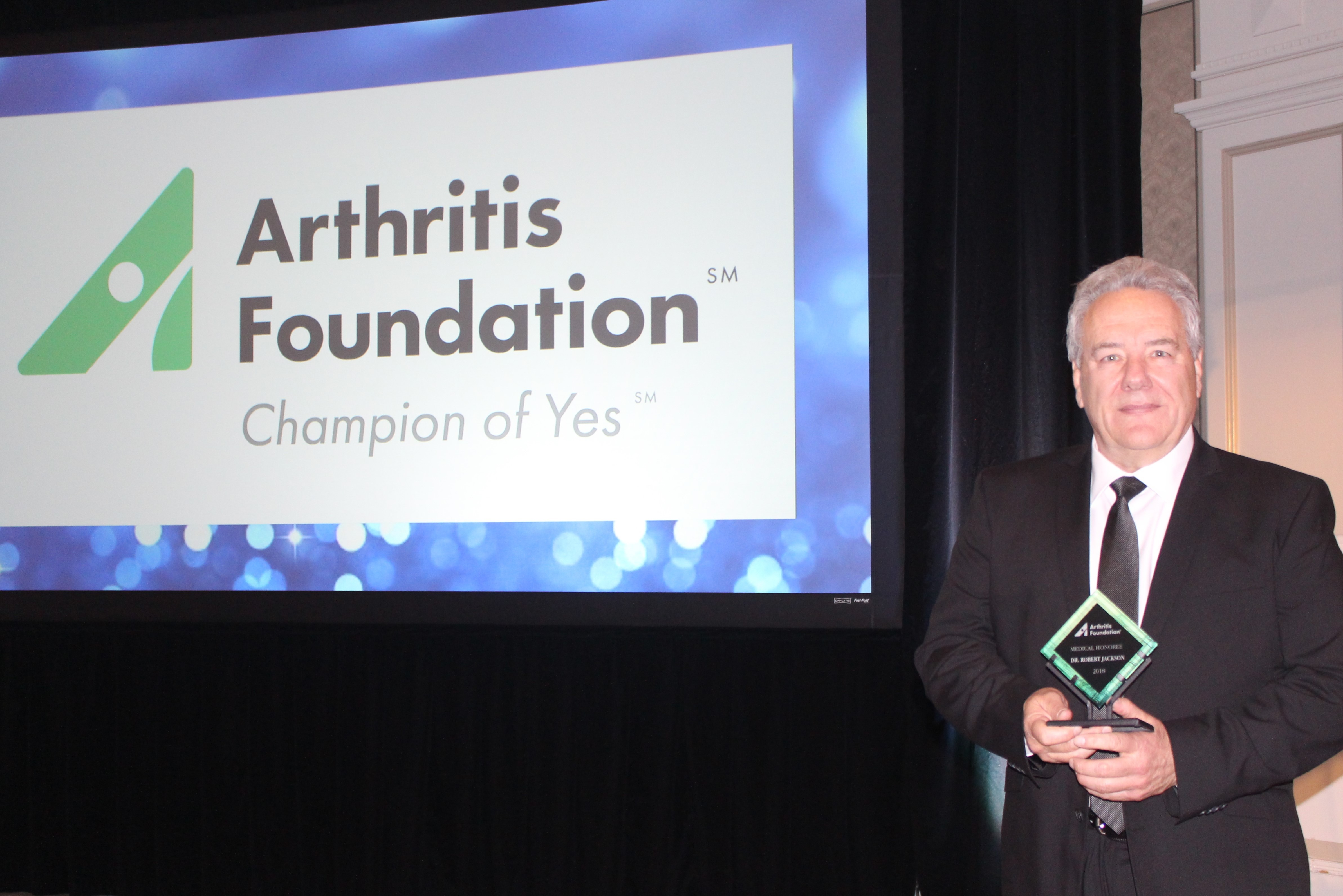 Arthritis Foundation Medical Honroree
