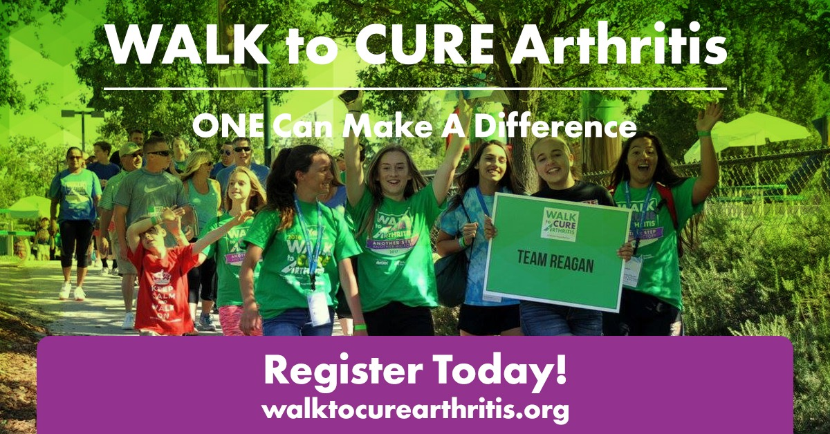 Join PSN in the Walk to Cure Arthritis, April 26