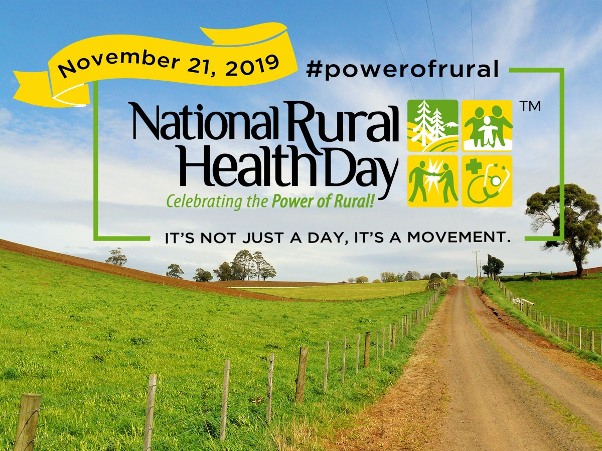 A Boost for Rural Care Needs – National Rural Health Day 2019