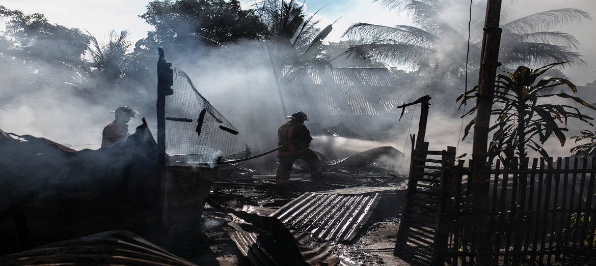 Natural disasters pave the way for security risks