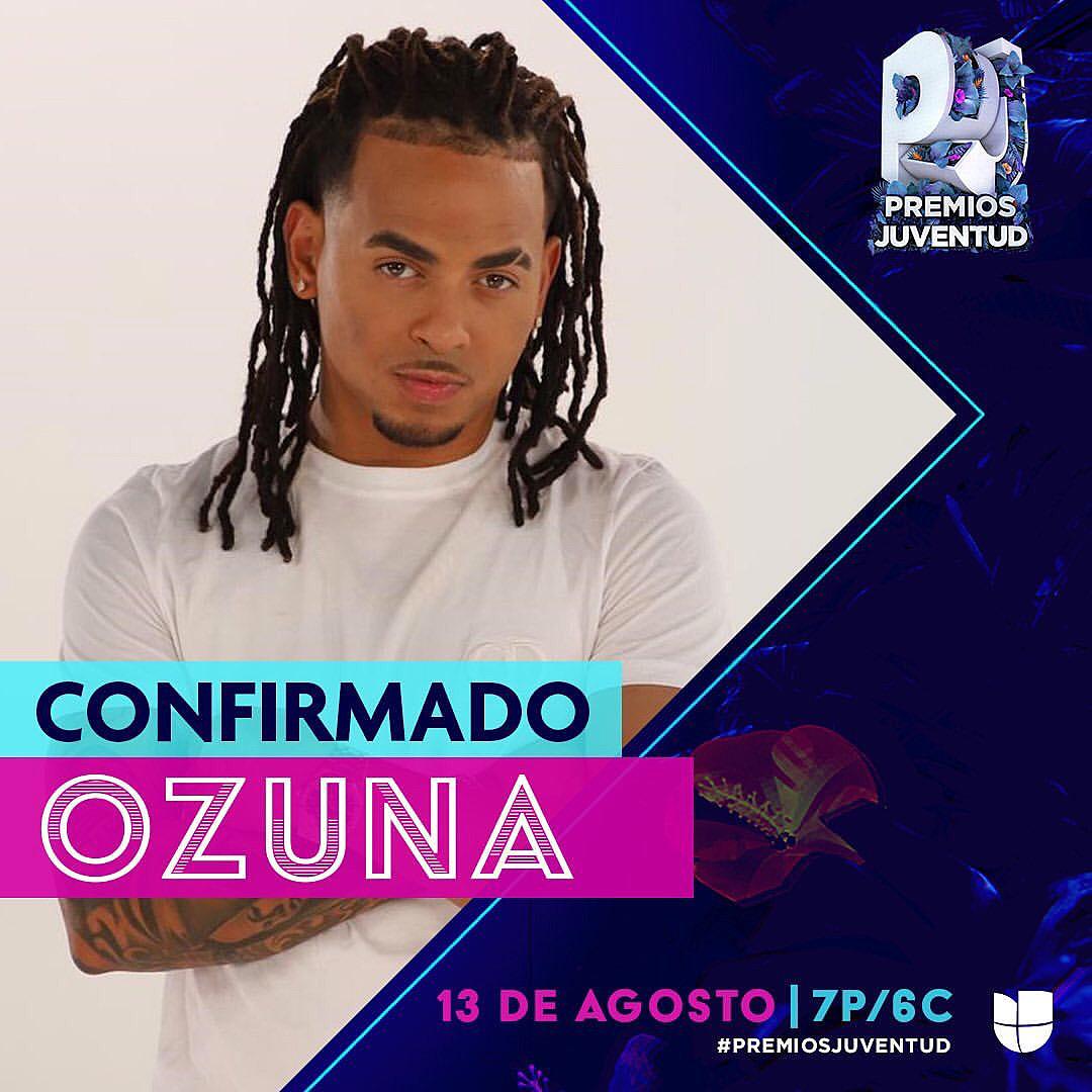Ozuna confirmed to Perform at Premios Juventud 2020