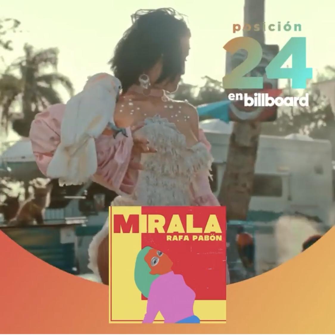 """Rafa Pabön debuta en Billboard #24 con """"Mirala"""" y """"Jangueo"""" #22"""