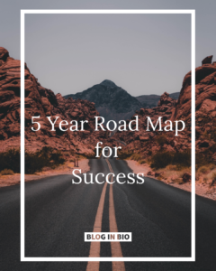 Road Map for Success