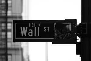 Wall St Sign Credit: Adobe Spark