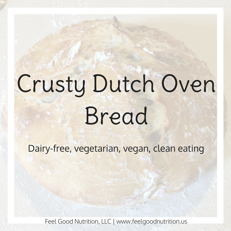 Crusty Dutch Oven Bread