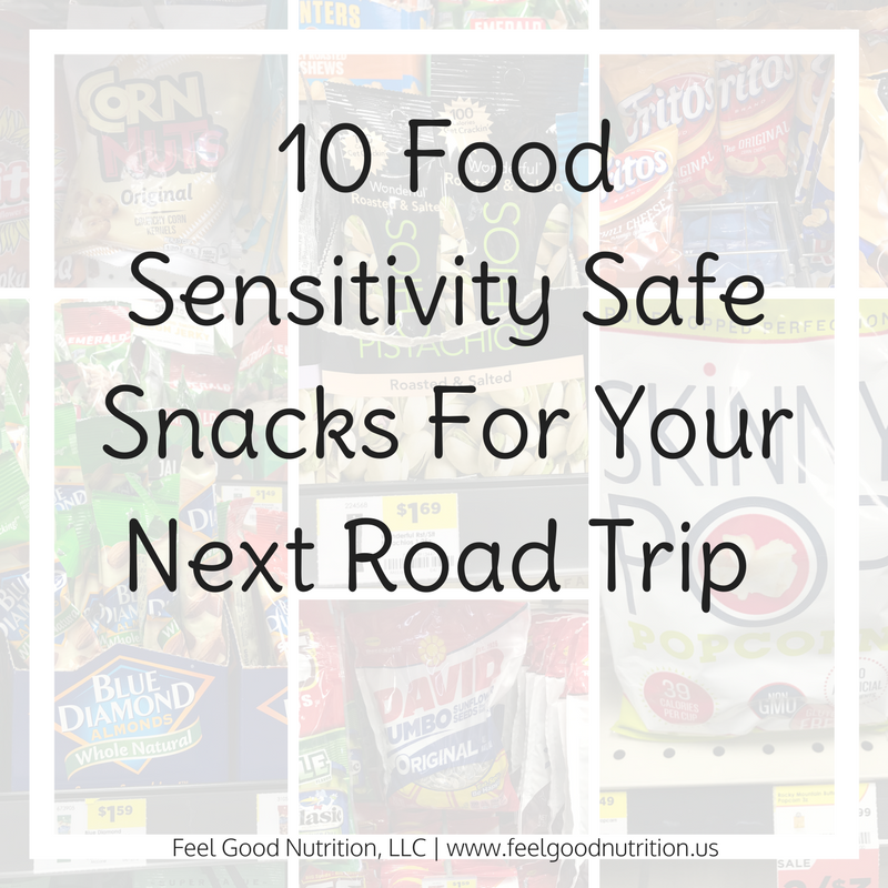 10 Food Sensitivity Safe Snacks For Your Next Road Trip