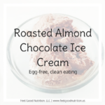 Roasted Almond Chocolate Ice Cream