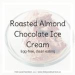 Roasted Almond Chocolate Ice Cream