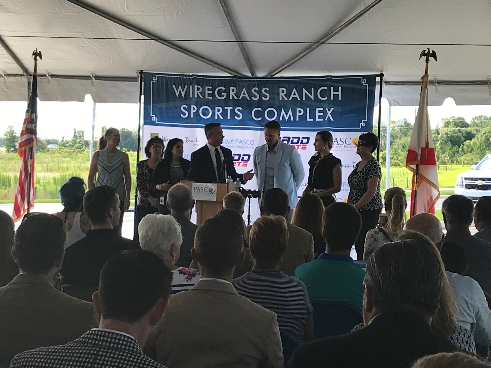 Pasco County held the $40+ million Wiregrass Ranch Sports