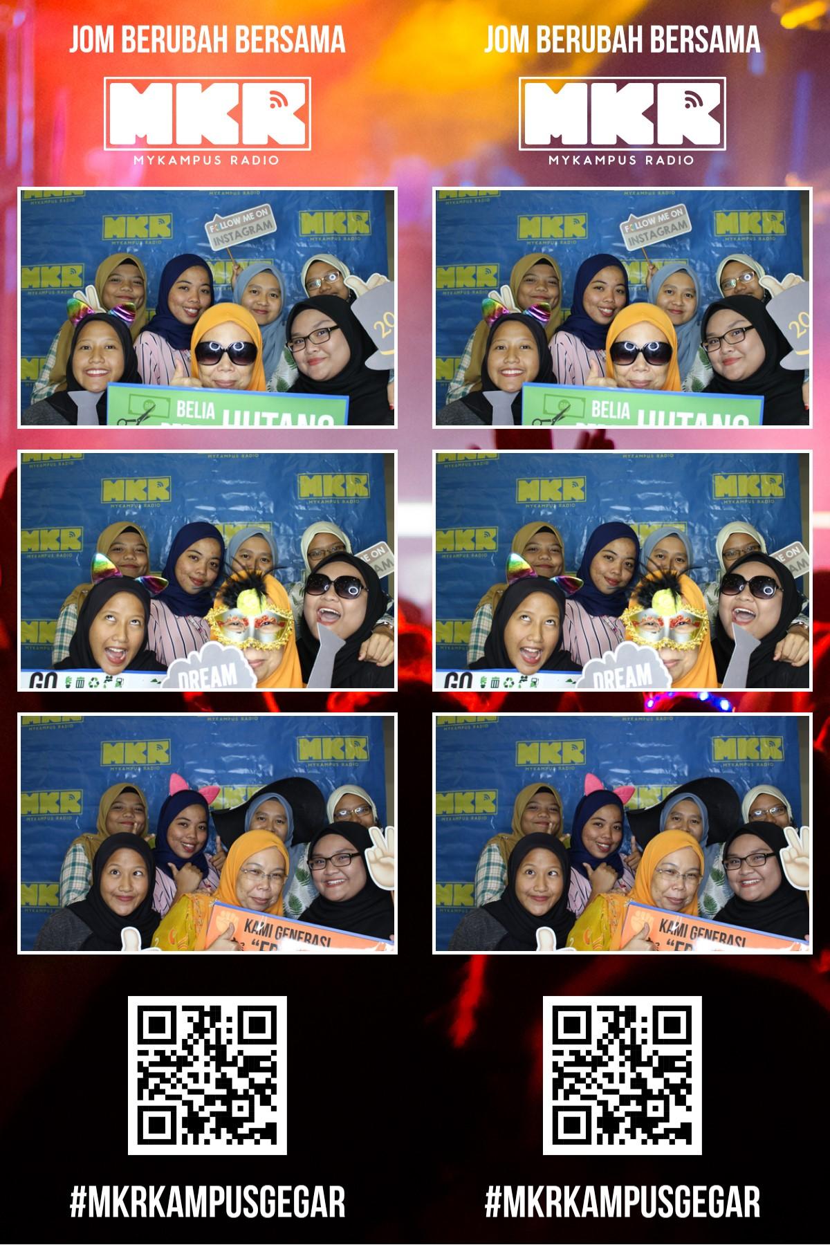 #MKRKampusGegar- Politeknik Nilai, Negeri Sembilan! (Photo booth)