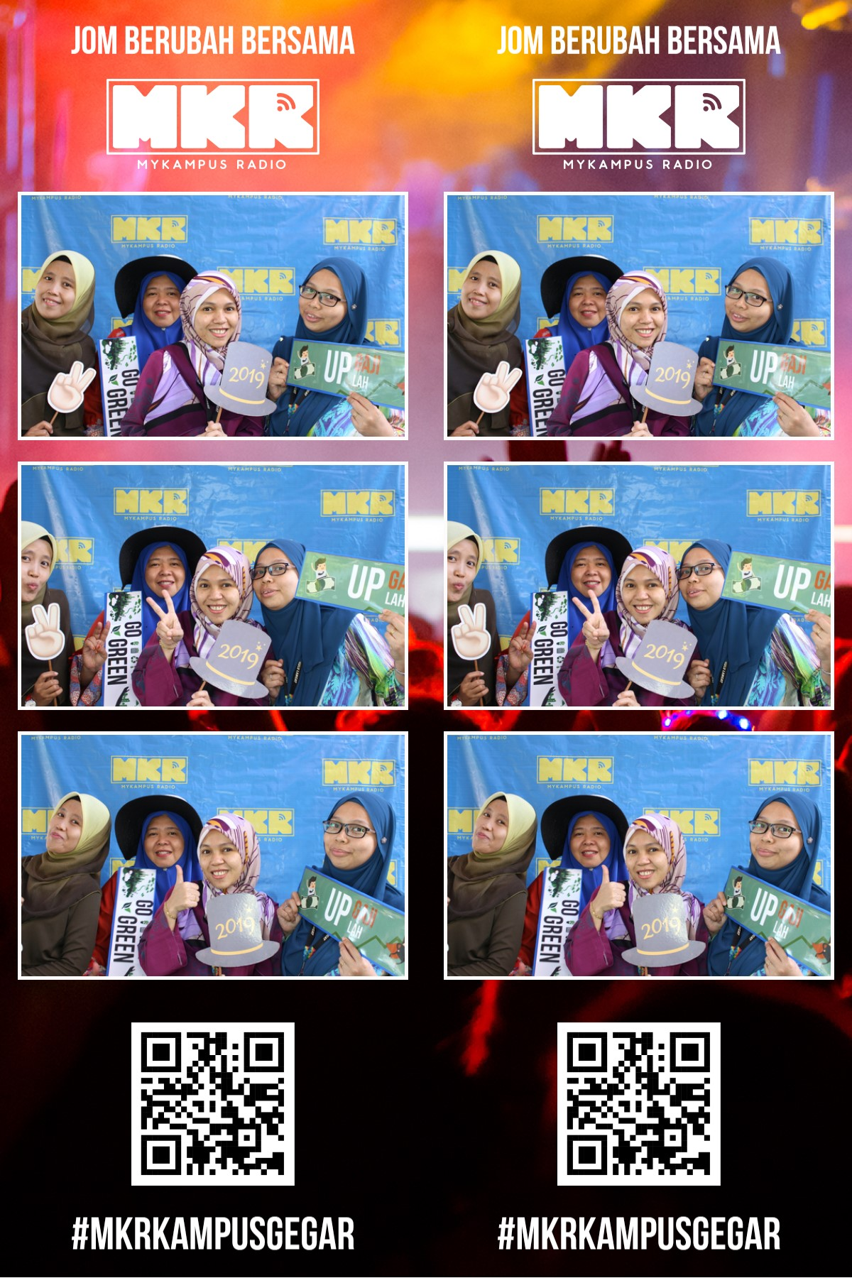 #MKRKampusGegar- Kolej Komuniti Hulu Langat, Selangor! (Photo booth)