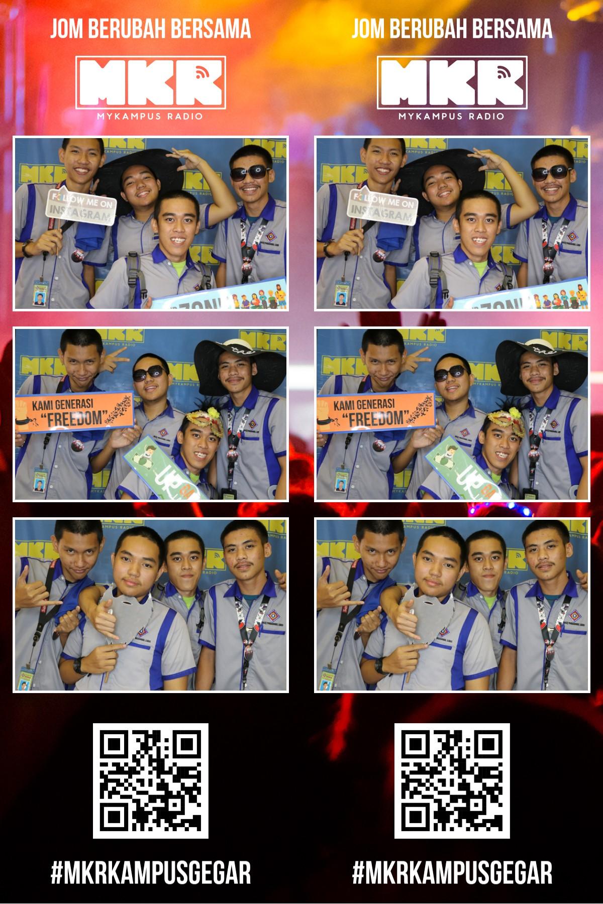 #MKRKampusGegar- Kolej Vokasional Likas, Sabah! (Photo booth)