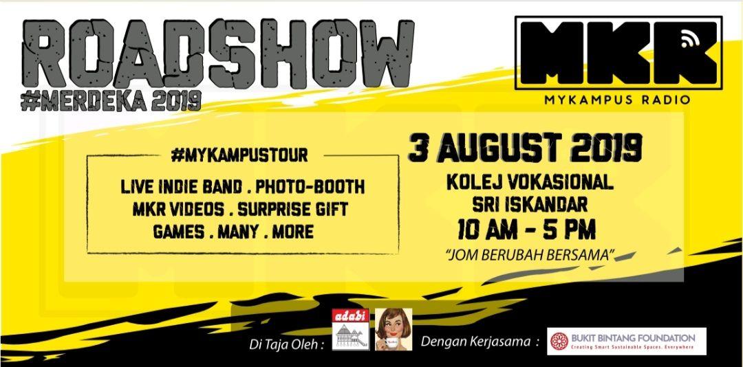 Roadshow Seri Iskandar! #Merdeka2019