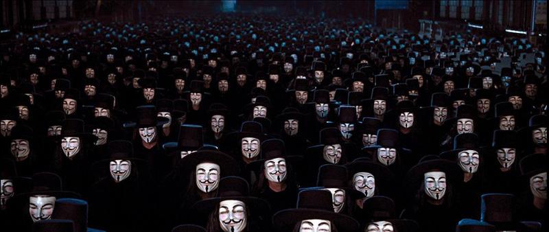 Sinopsis V For Vendetta Filem Pemberontakan