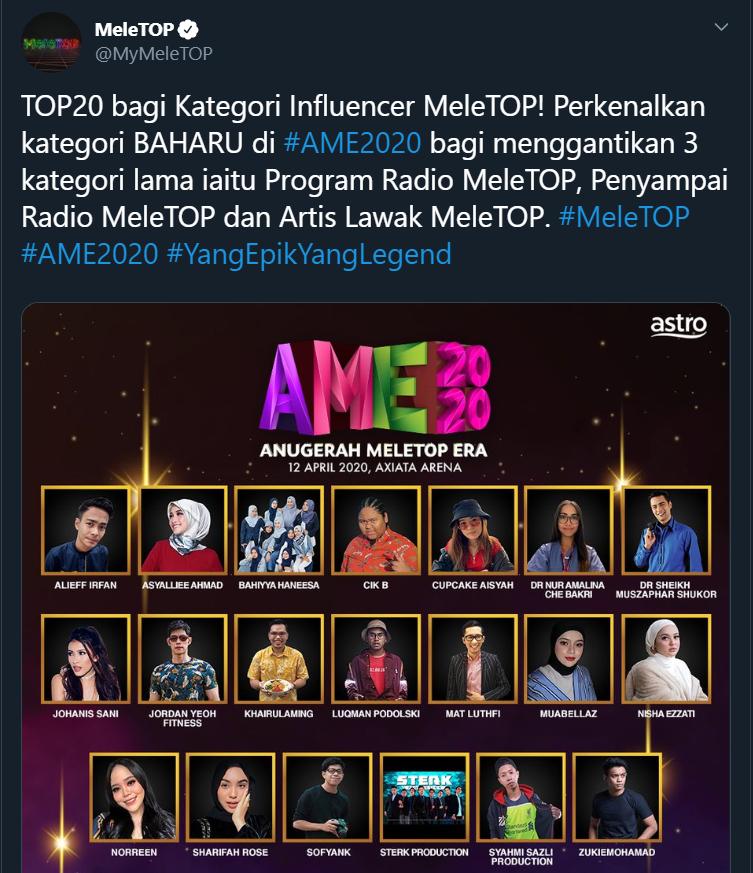 Dr. Amalina & Dr. Syeikh Muzaffar: Apa 'Kelas' Anugerah Meletop!