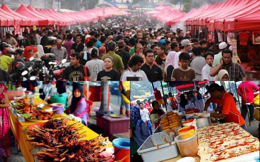 Rindunya Bazar Ramadhan!