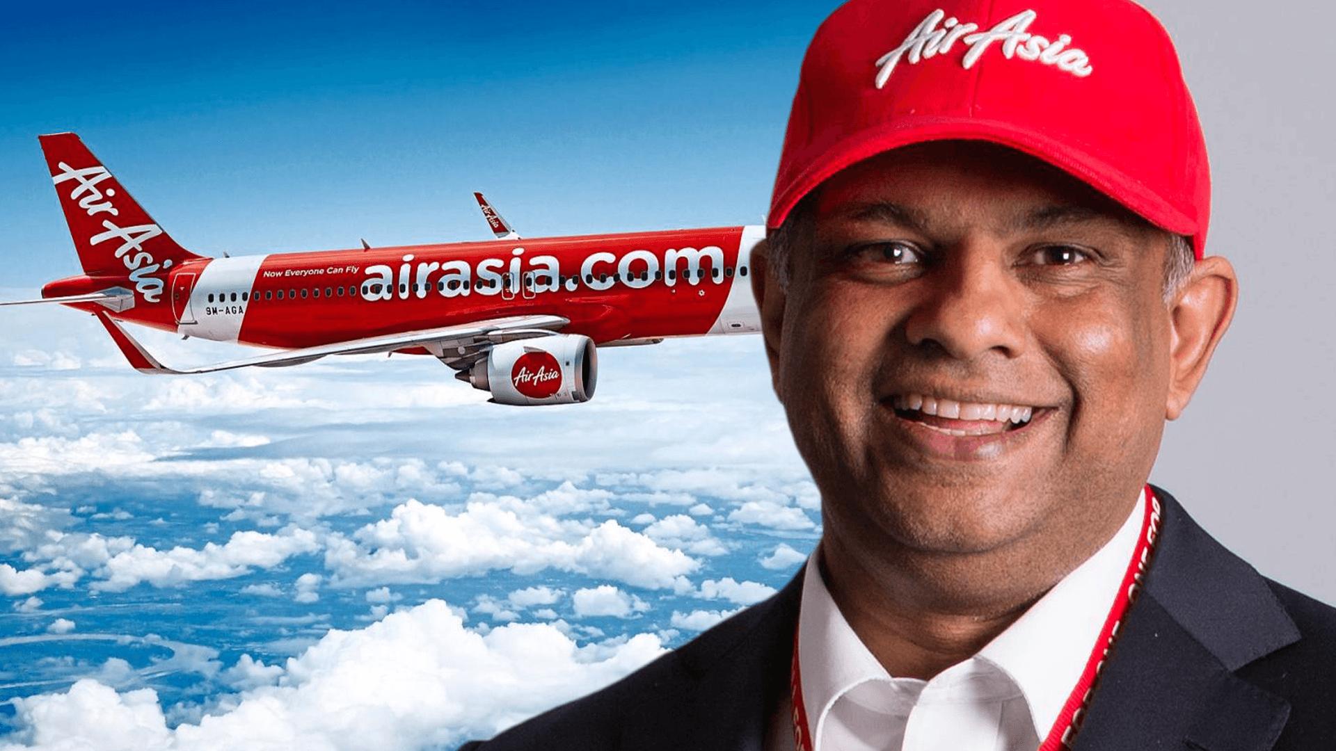 AirAsia dijual RM1? – 10 Perkara Tony Fernandes yang Anda Mungkin Tidak Tahu