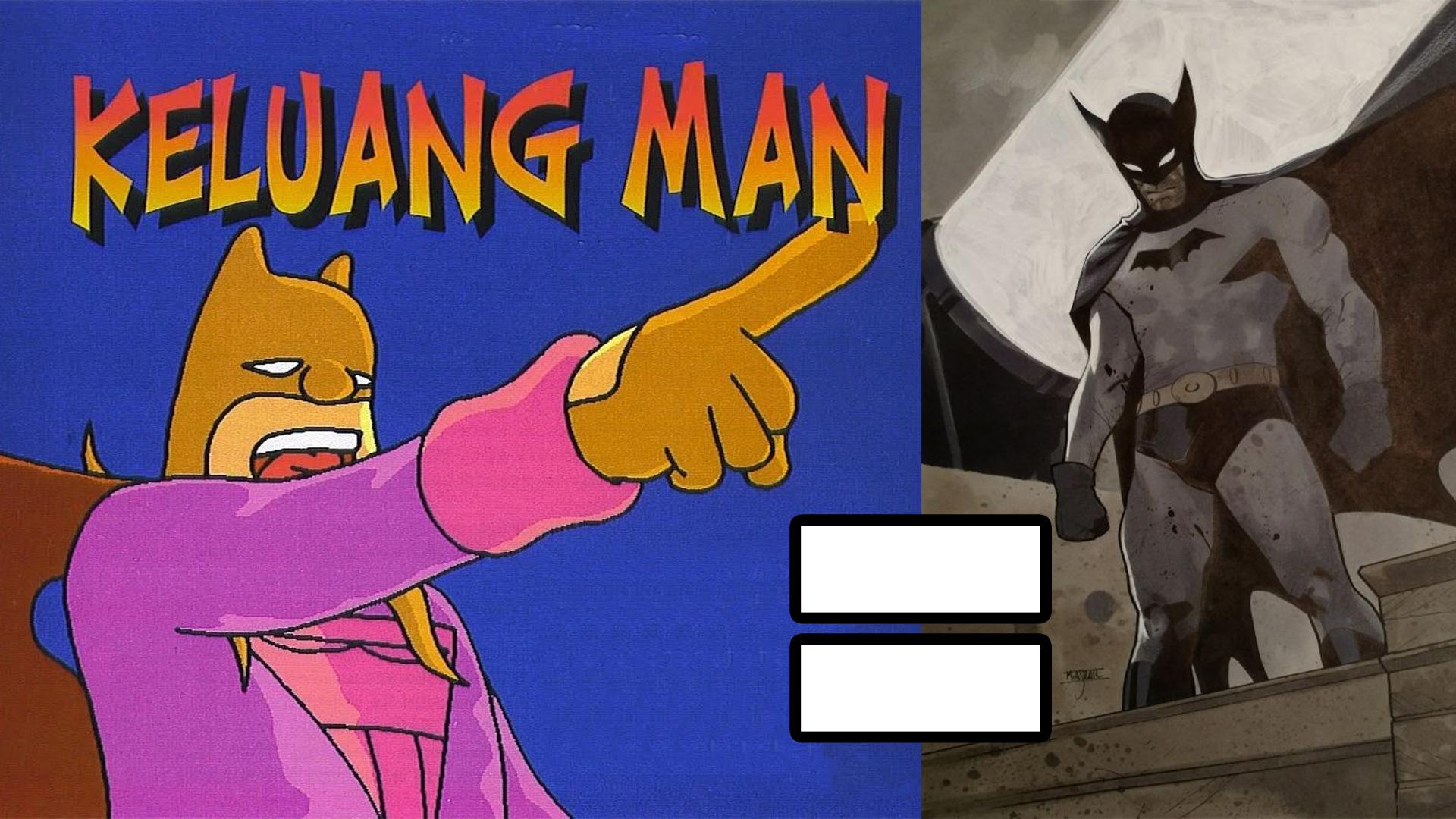 Keluang Man Cetak-Rompak Batman?! – Apa Perbezaan Dua Karakter Ini?