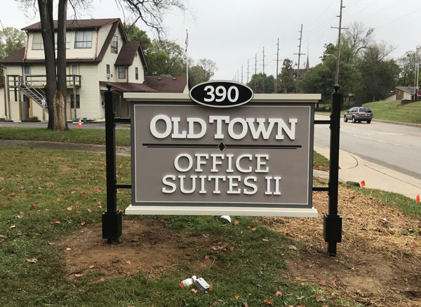 Old Town Office Suites II exterior Signs Greenwood