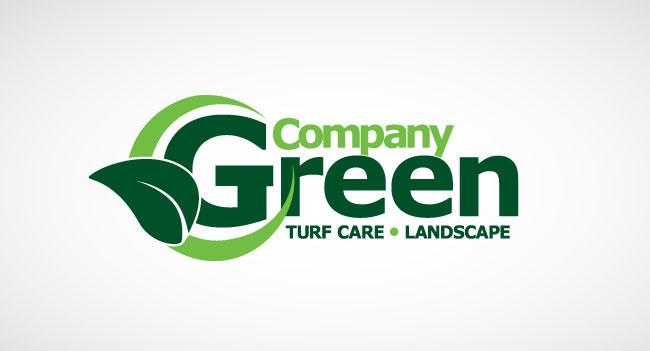Company Green Logo Design
