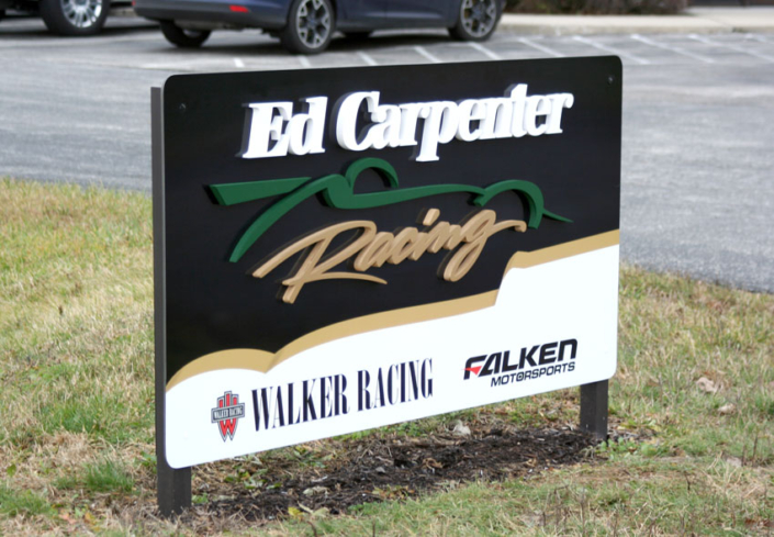 Ed Carpenter Racing Exterior Sign